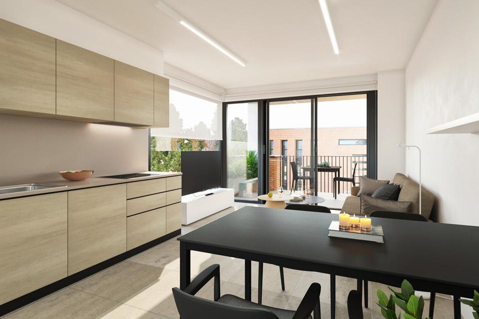 Appartamento con balcone a Riva San Vitale