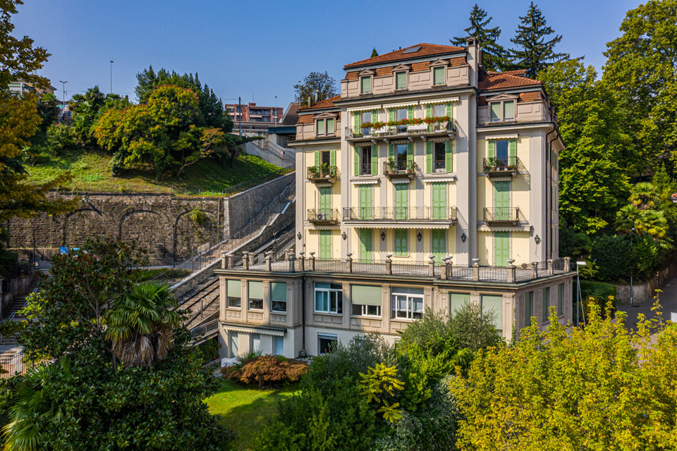 Prestigious apartments in the heart of Lugano Palazzo Adler