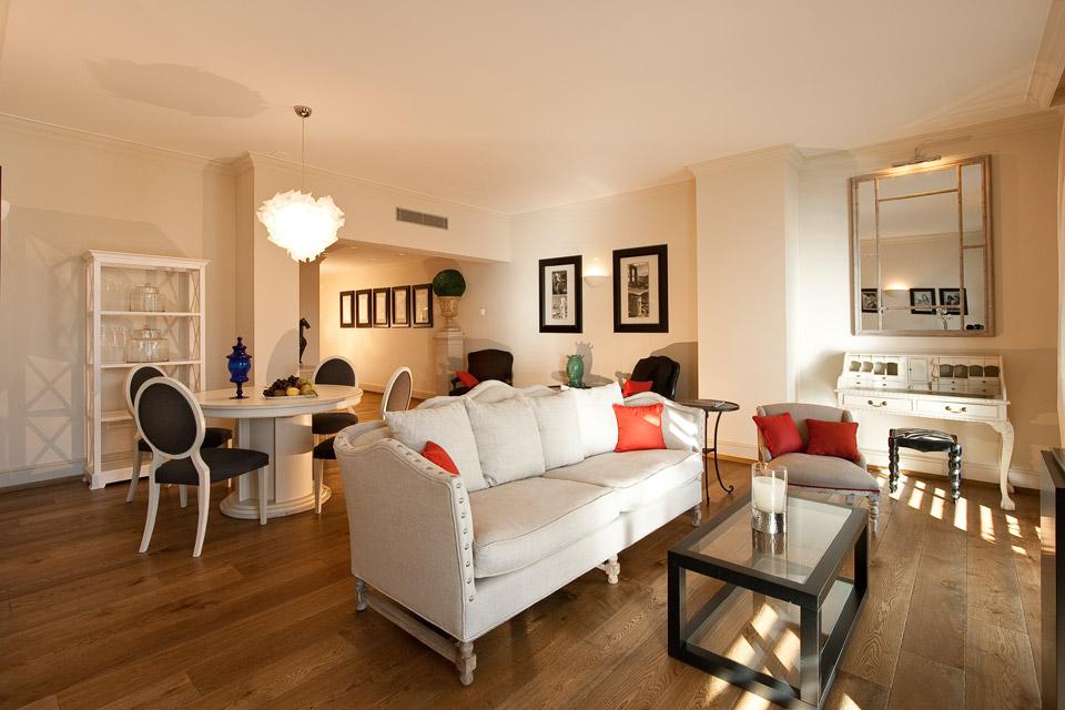 Appartamenti arredati a Lugano di 3.5 locali con vista lago di Lugano