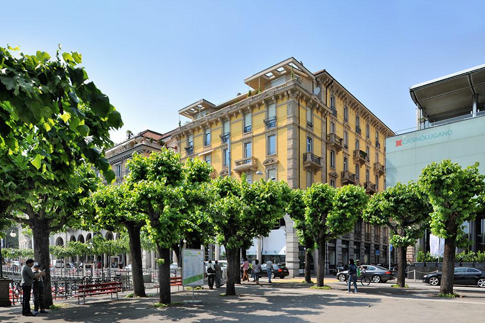 Prestigioso appartamento in centro a Lugano