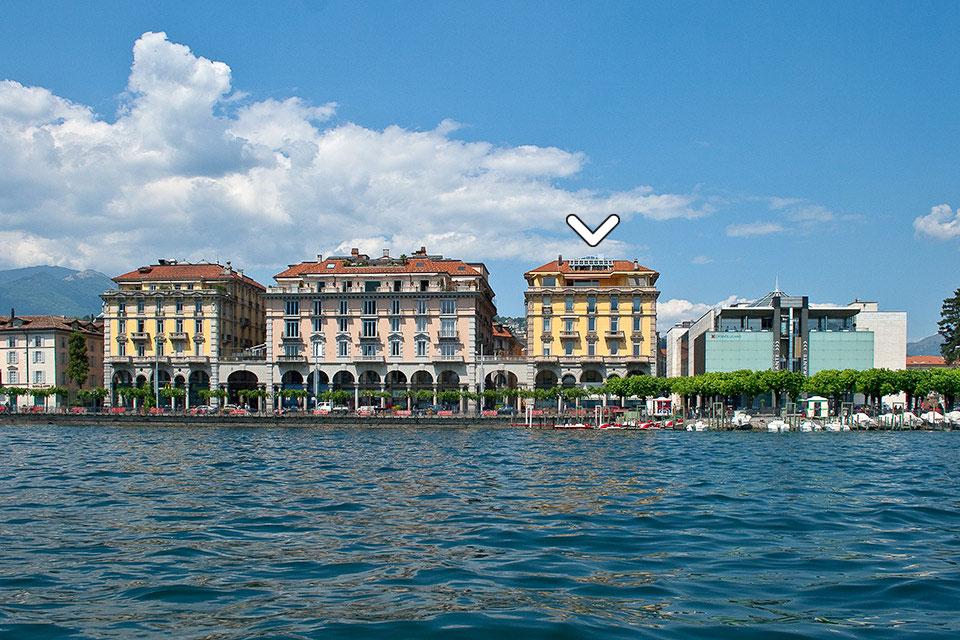 Prestigioso studio con abitazione in centro Lugano con vista lago