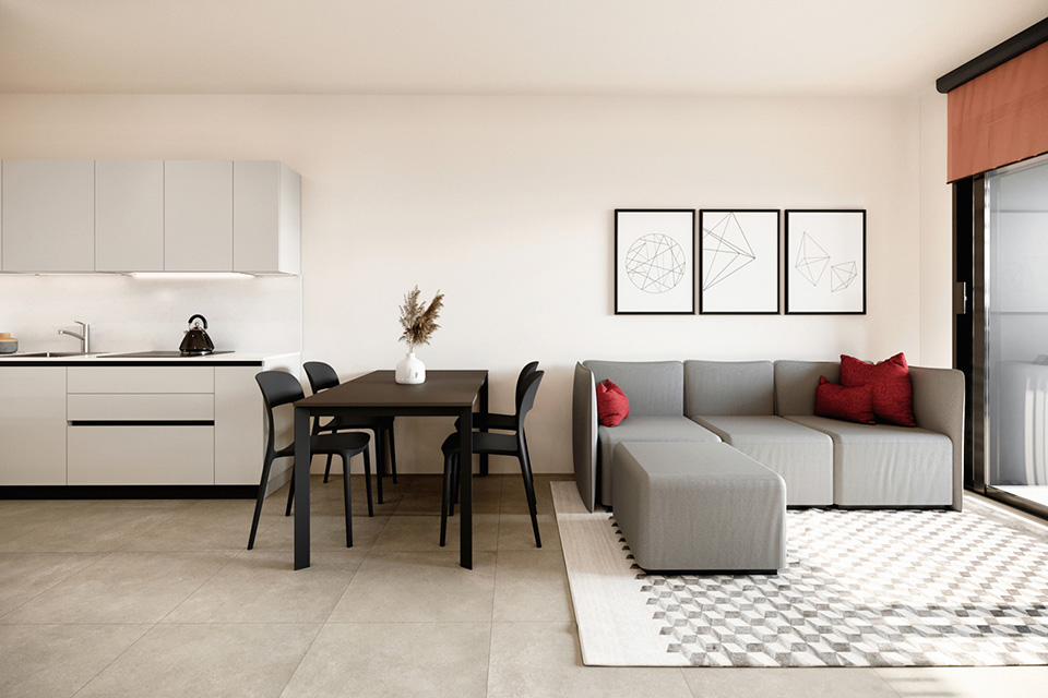 2.5 rooms apartments in new building in the heart of Lugano